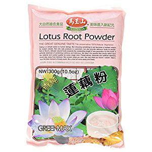 Free One NineChef Spoon + Greenmax (Mayushan) Lotus Root Powder 10.5oz (2 Bag)