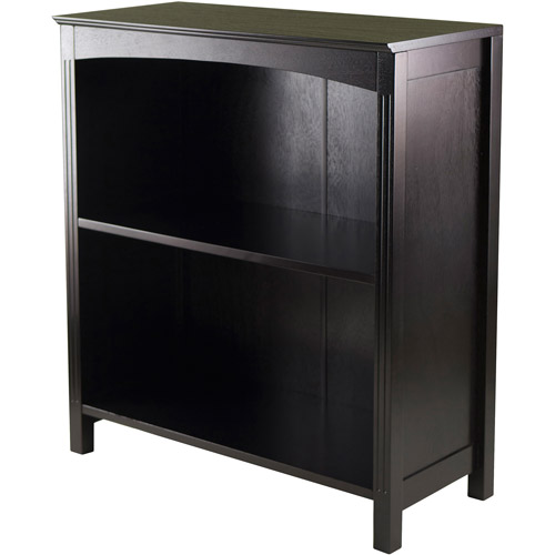 Terrace 3-Tier Bookshelf, Dark Espresso