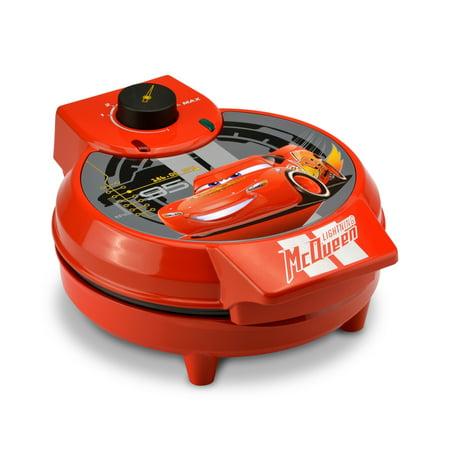 Disney Pixar Cars Lightning McQueen Waffle Maker