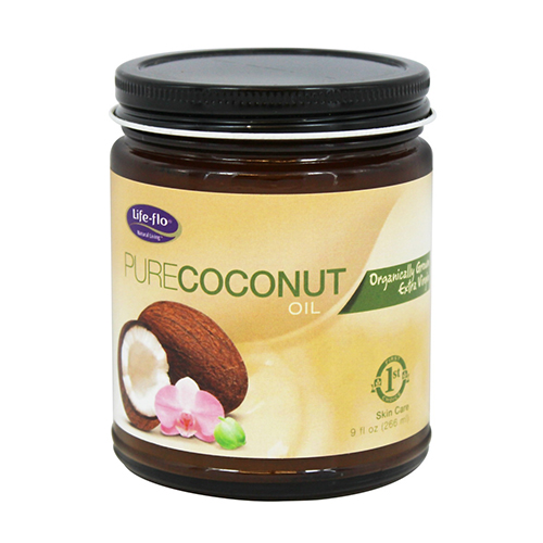 Life-Flo Health Organic Pure Coconut Oil Skin Care - 9 fl oz