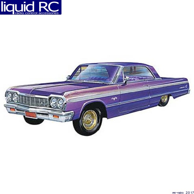 Revell 1:25 Scale '64 Chevy Impala Hardtop Lowrider 2-in-1 Model Kit by Revell