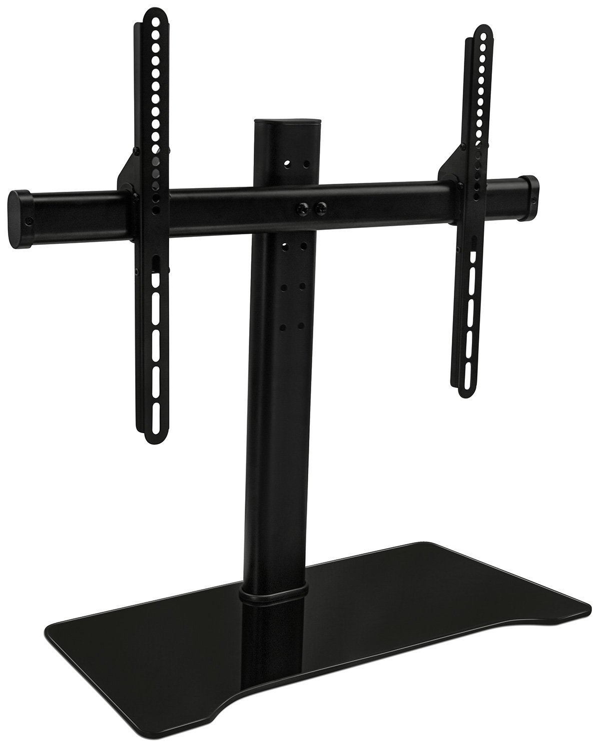 Mount It Universal Tabletop Tv Stand Mount And Av Media Glass Shelf