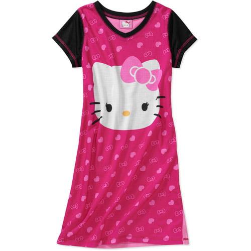 Hello Kitty Girls' Nightgown