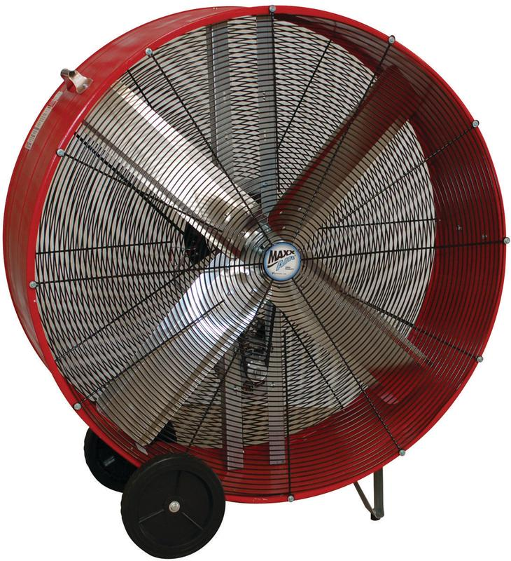 Ventamatic Maxx Air Belt Driven Industrial Drum Fan