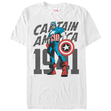 Marvel History - Marvel Men's Captain America History T-Shirt