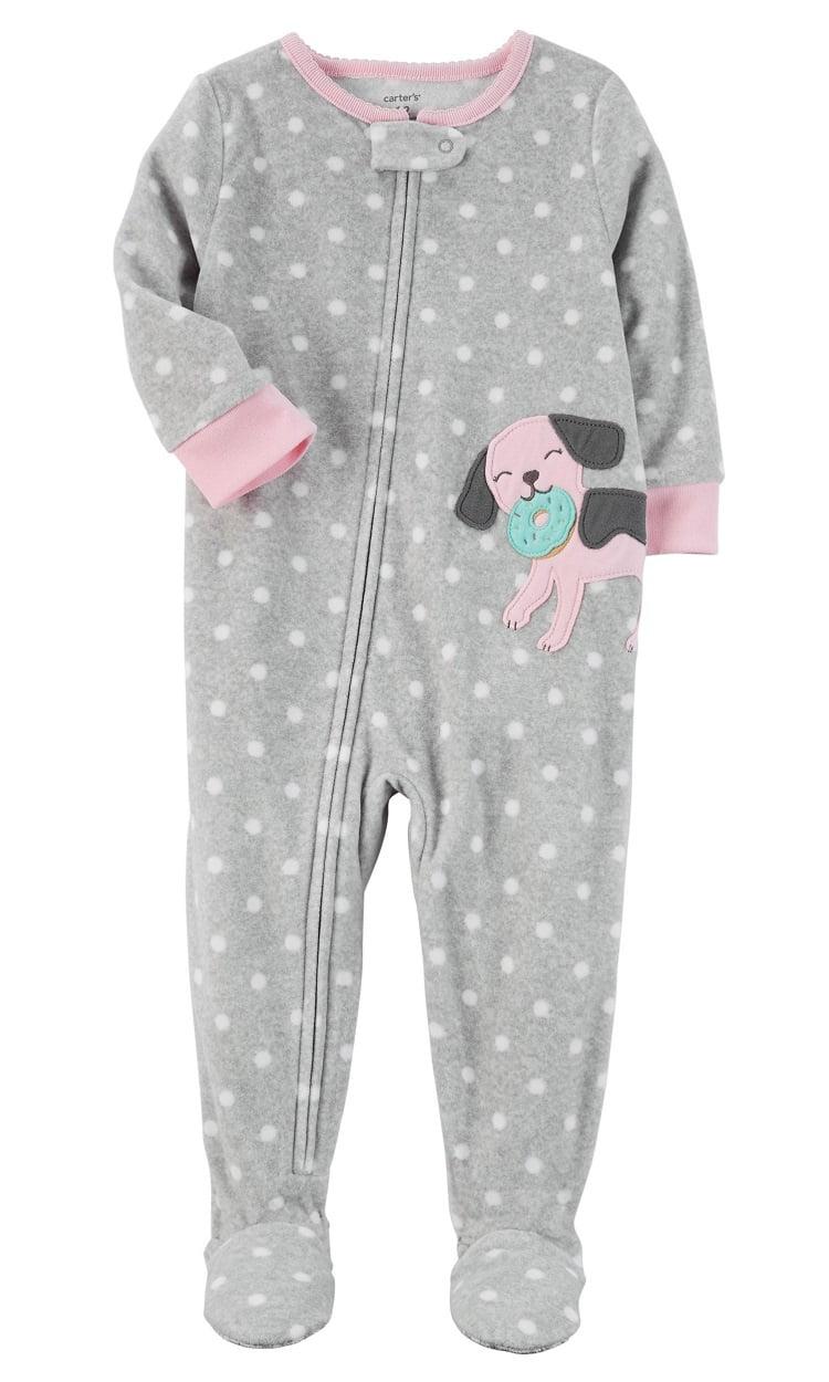 fd1474c325 Carter s - Carter s Little Girls  1 Piece Dog Fleece Pajamas