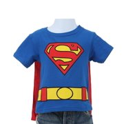 Toddler Baby Boys Costume T-Shirt with Cape