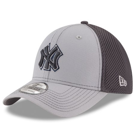 New York Yankees New Era Grayed Out Neo 2 39THIRTY Flex Hat - Gray