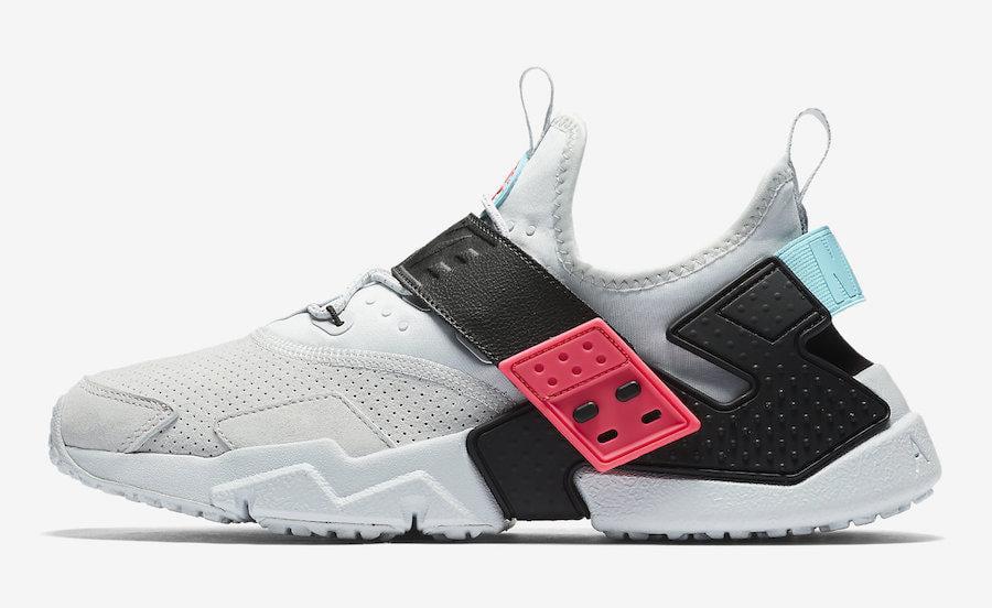 Men's Nike Air Huarache Drift Premium South Beach Pure Platinum Racer -  Walmart.com