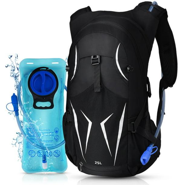 Vbiger - Hydration Backpacks for Women & Men, Sport Outdoor Backpack with  2.5 L Water Bladder Bag and Hose Hydration Camel Back for Camping Hiking,  Black - Walmart.com - Walmart.com