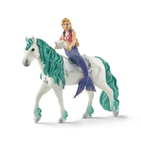 Schleich Bayala, Gabriella Mermaid on Horse Toy Figure