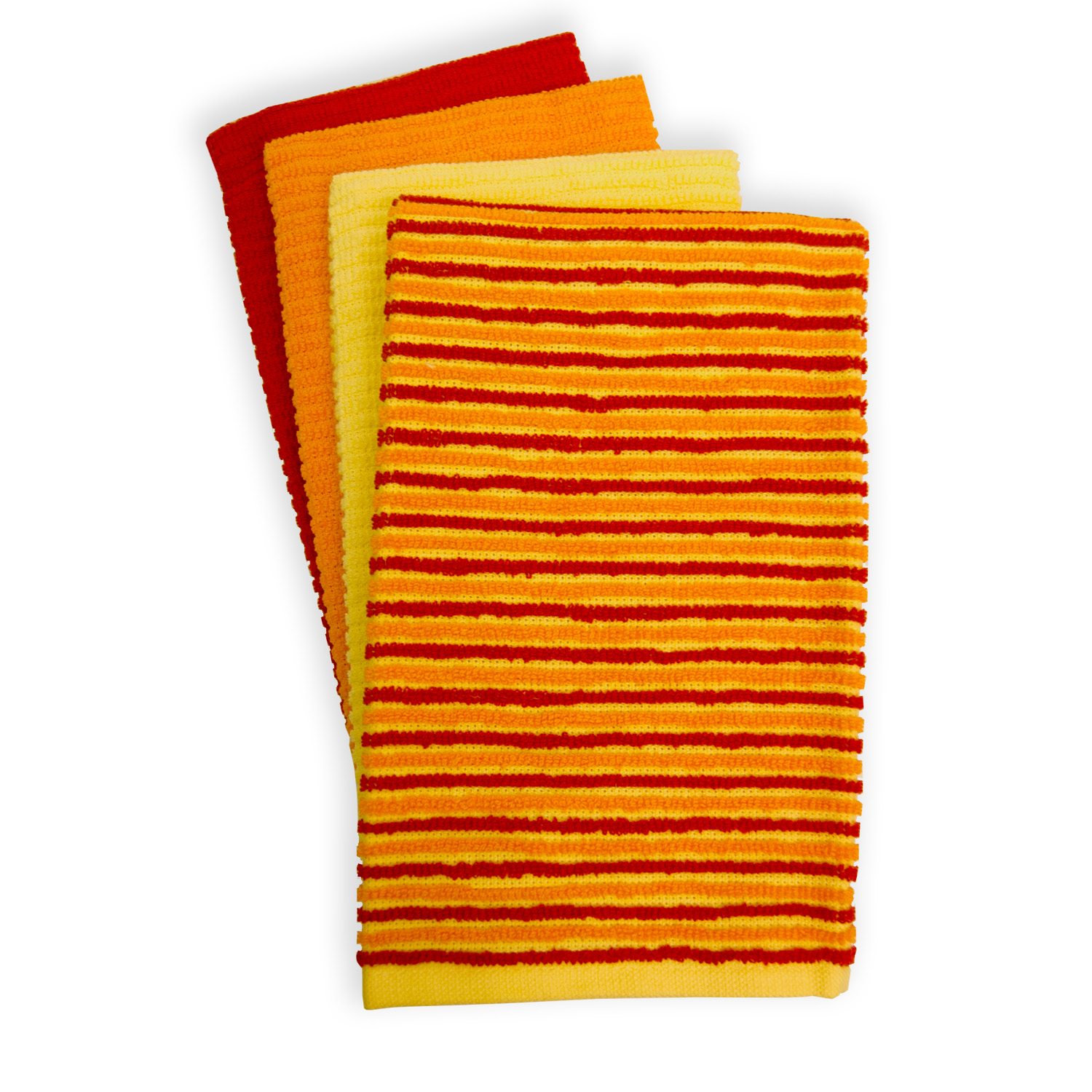 Fiesta 4-pc. Ribbed Kitchen Towel Set by Town & Country Linens