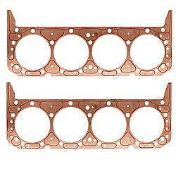 SCE Gaskets SBC Copper Cylinder Head Gasket 2 pc P/N