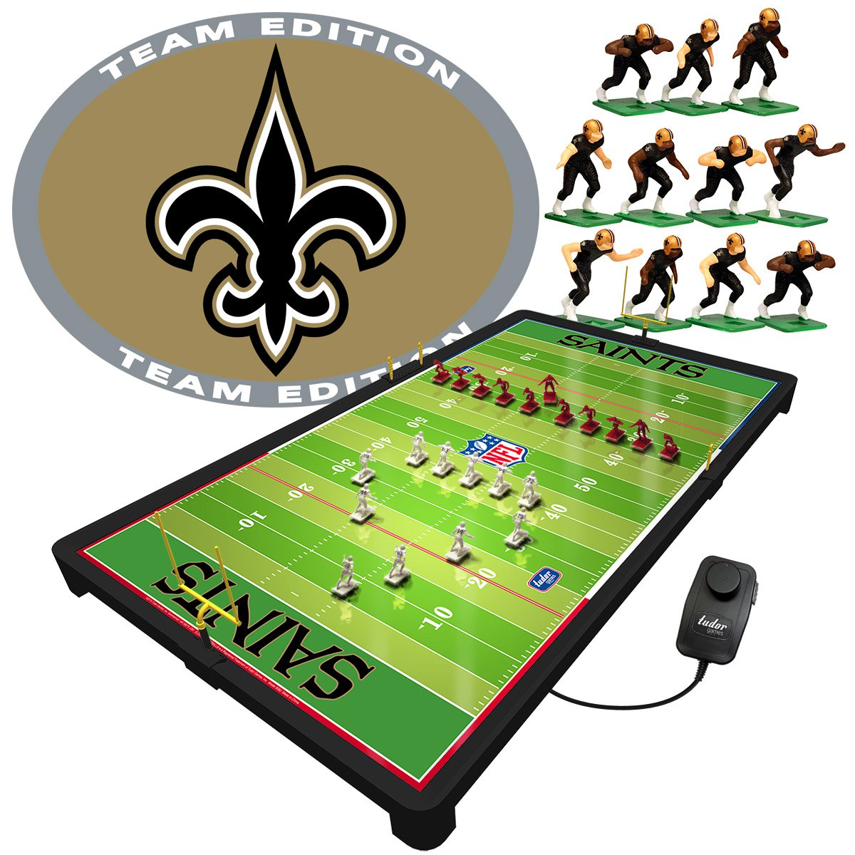 New Orleans Saints NFL Deluxe Electric Football Game