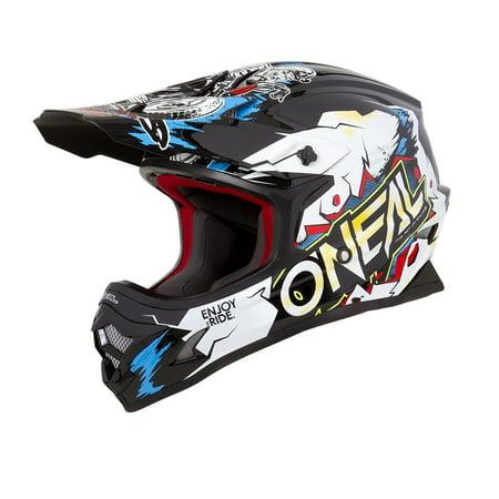 Oneal 2019 3 Series Villian Helmet - White - (Best Motorbike Helmets 2019)
