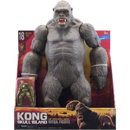 Kong Skull Island 18  Poseable Kong With Figure