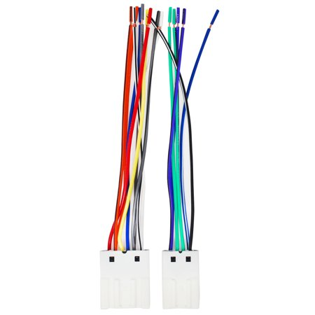 replacement radio wiring harness for 2005 nissan altima, 2006 nissan  altima, 2004 nissan maxima, 2003 nissan altima, 2000 nissan maxima, 2004  nissan sentra,