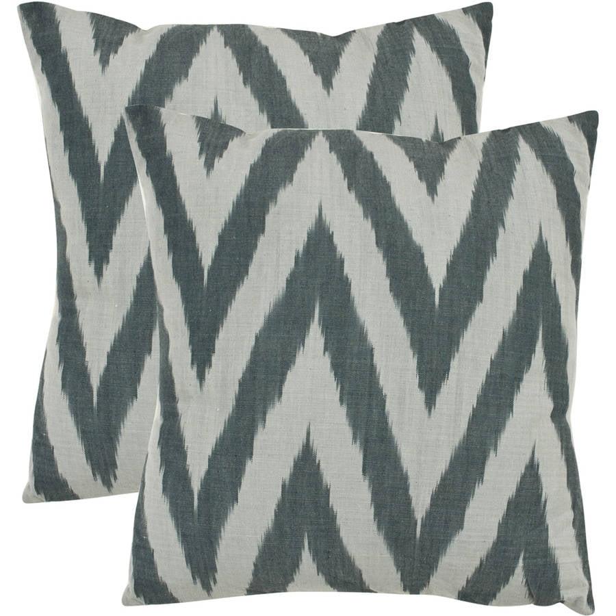 Safavieh Chevron Striped Pillow, Set of 2