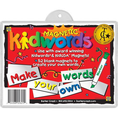 Make Your Own Words Magnets Set of 56