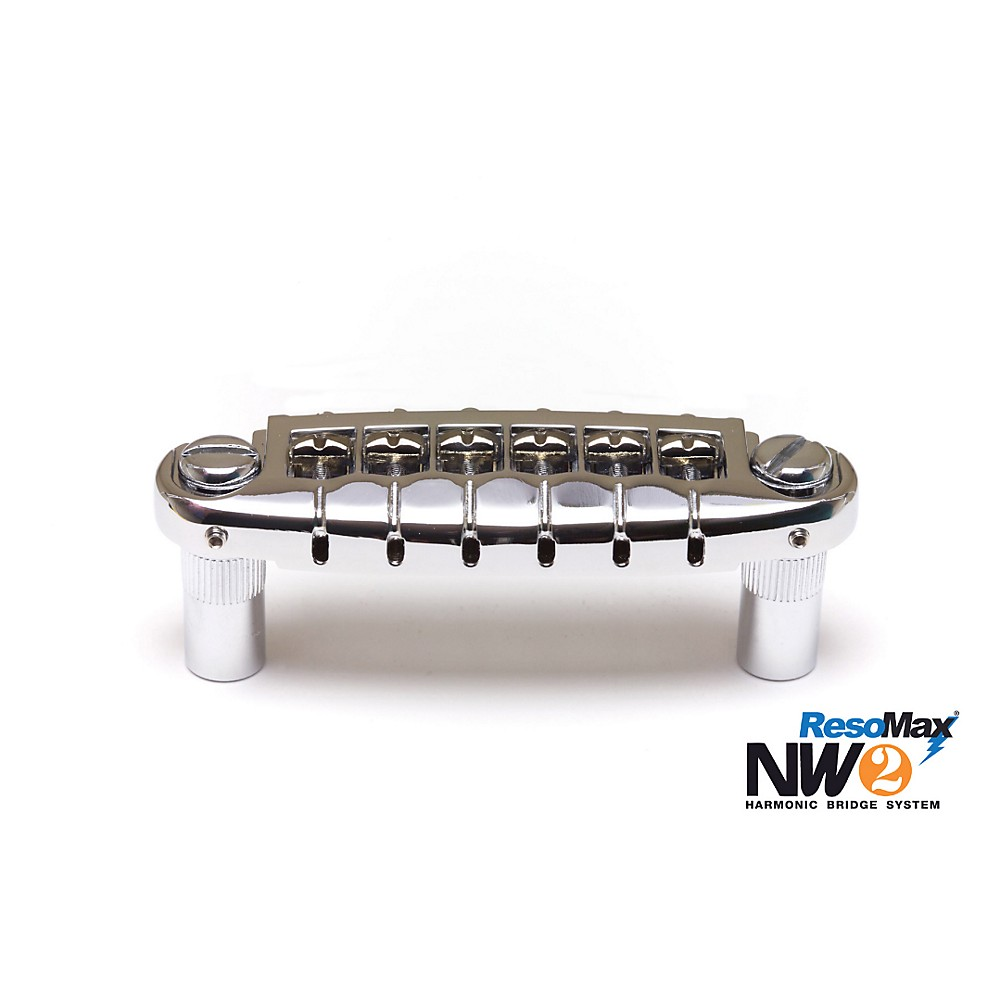 Graph Tech ResoMax NW1 Wraparound Bridge with Alloy Saddles Chrome by Graph Tech