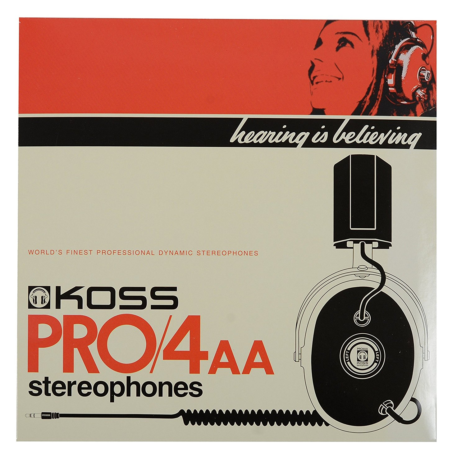 Koss Pro-4AA Studio Quality Headphones by Koss