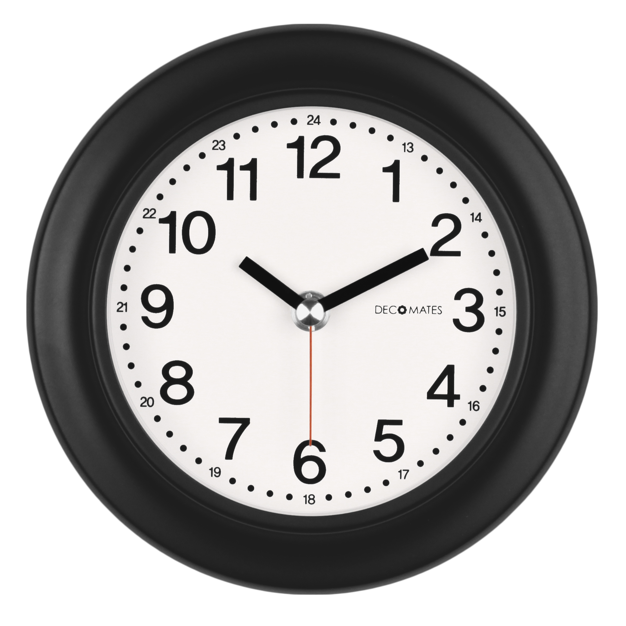 DecoMates NonTicking Silent Wall Desk Clock THour Walmartcom