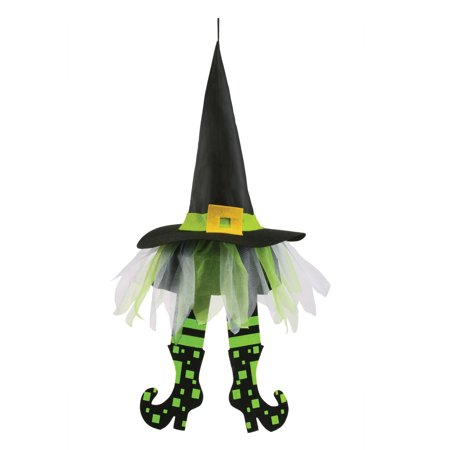 24 Inch Floating Witch Hat Legs Halloween House Decoration