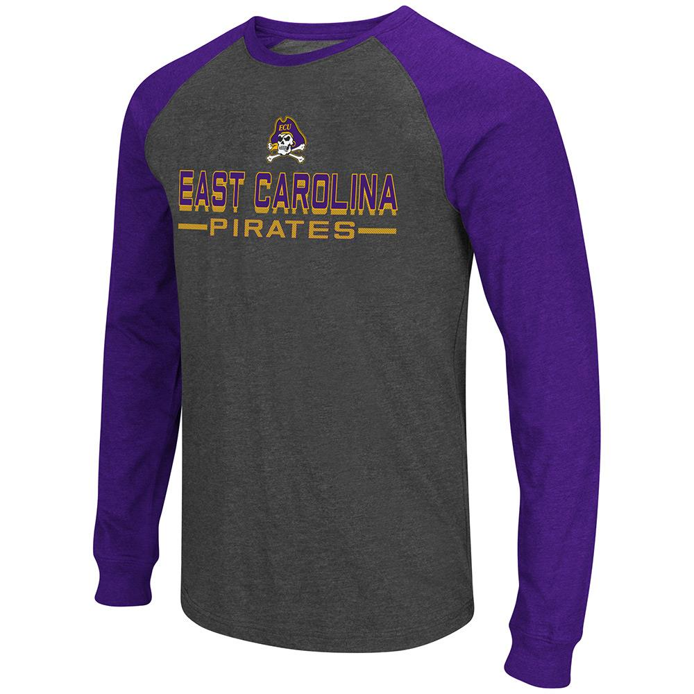 Mens NCAA East Carolina Pirates Olympus II Long Sleeve Tee Shirt