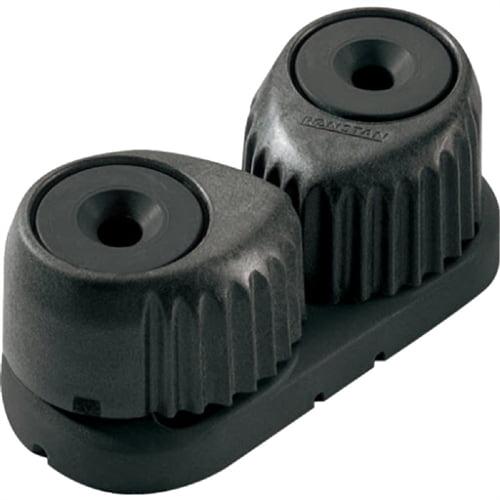 "Ronstan C-Cleat Cam Cleat - Medium - Black with Black Base - 3-12mm (1/8"" - 1/2"") Rope Diameter RF5410"