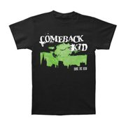 Comeback Kid Men's  Dead City T-shirt Black