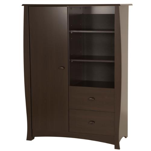 South Shore Beehive Armoire with Drawers by Overstock