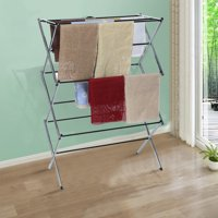 snorda Foldable Drying Rack Horse Extendable Telescopic Clothes Dryer For Hang Laundry