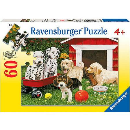 Ravensburger Puppy Party Puzzle, 60 Pieces
