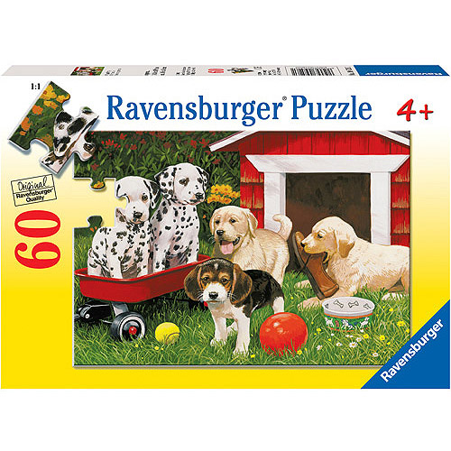 Ravensburger Puppy Party Puzzle, 60 Pieces
