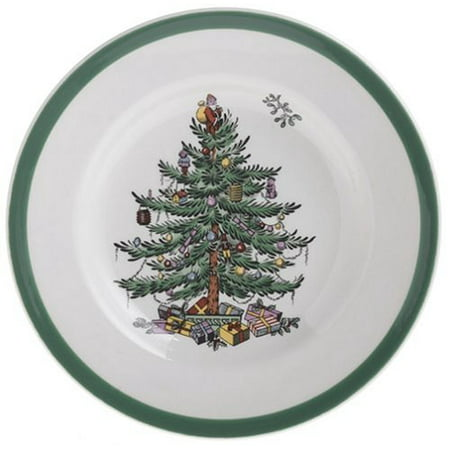 Christmas Tree Bread and Butter Plate, Set of 4, 4 6-1/2-Inch bread and butter plates By