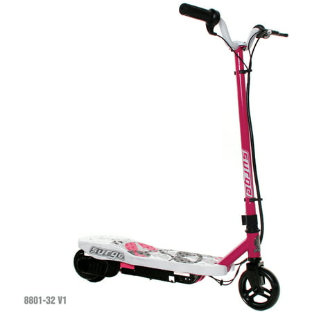 Surge Girls' 12V Electric Scooter, Pink