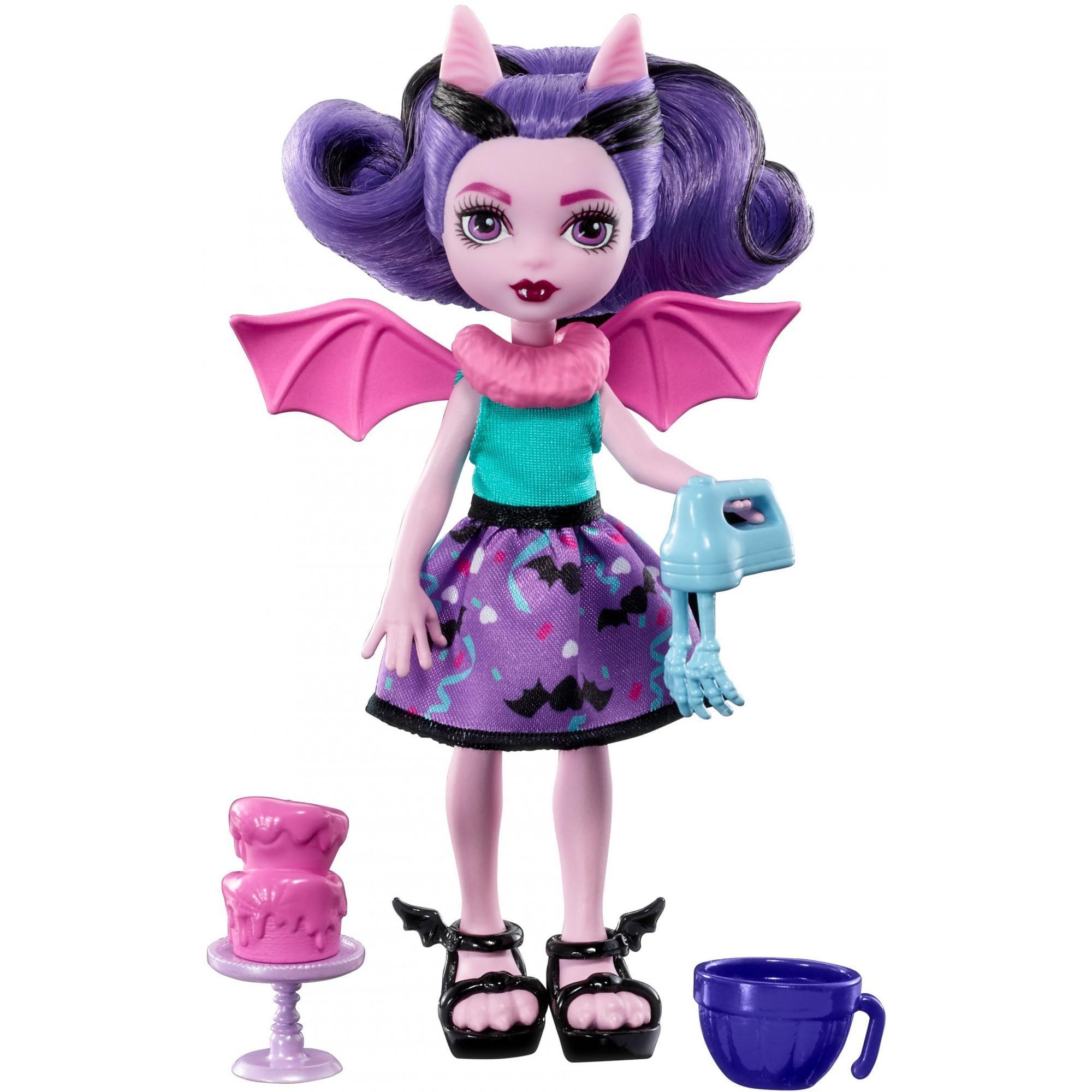 Monster High Monster Family Fangelica Doll by Mattel