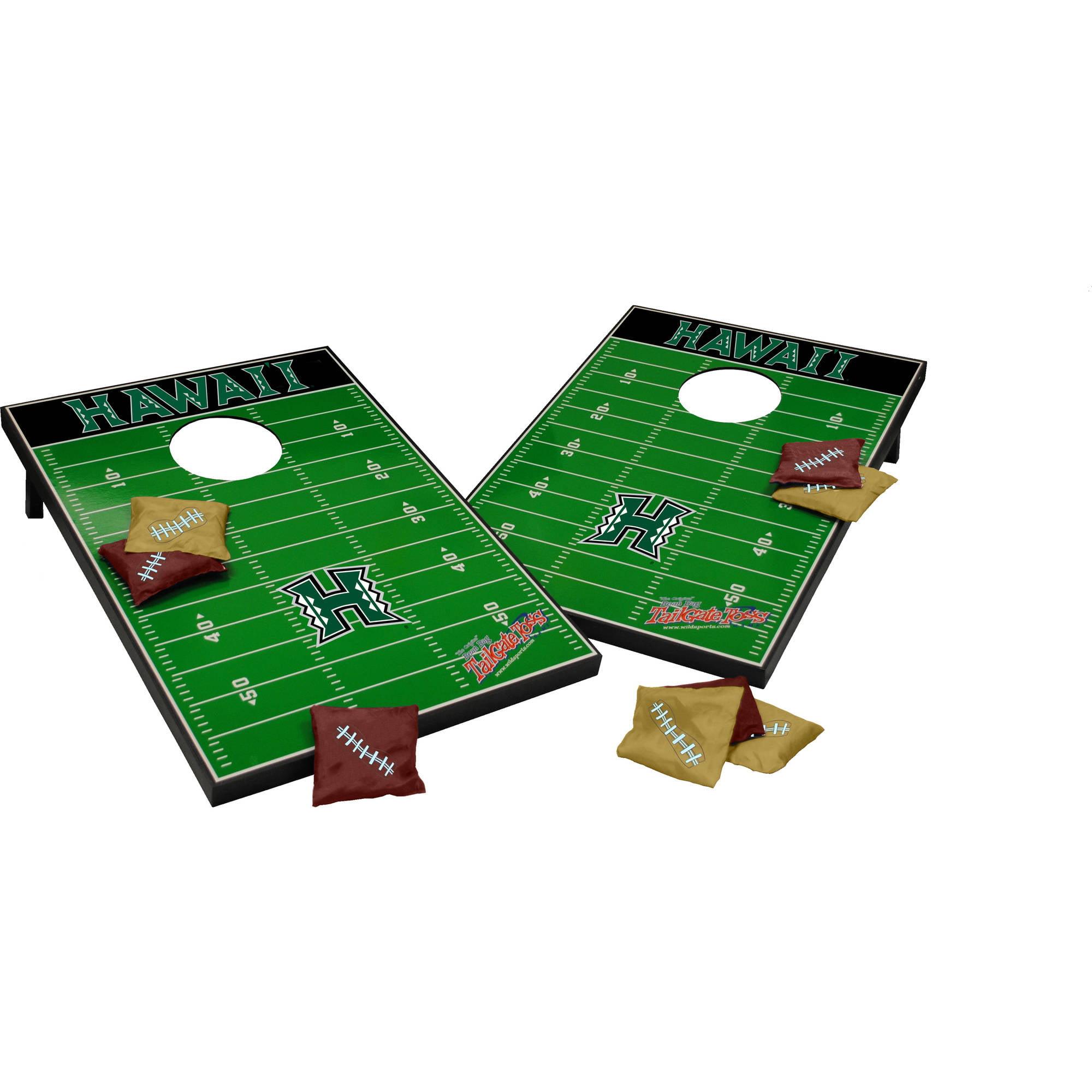 Wild Sports Collegiate College Hawaii 2x3 Field Tailgate Toss
