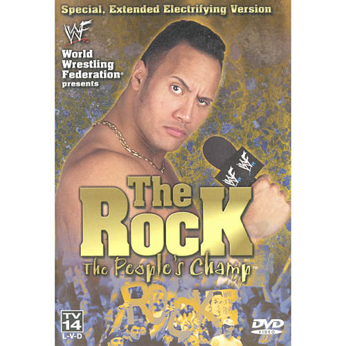 WWE The Rock The People's Champ by