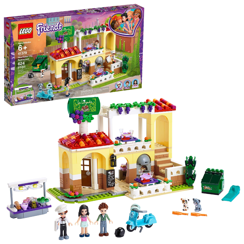 LEGO Friends Heartlake City Restaurant 41379 Toy Building Playset