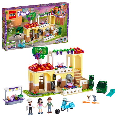 LEGO Friends Heartlake City Restaurant Building Kit with Restaurant Playset and Mini Dolls 41379
