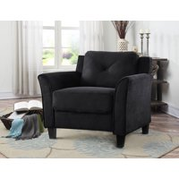 Lifestyle Solutions Taryn Rolled Arm Fabric Chair