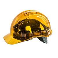 Portwest PV60ORR Peak View Chiusura a Rotella Ventilato Helmet, Orange
