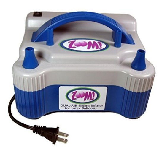 Dual Nozzle Electric Balloon Pump - Electric Balloon Inflator - Balloon Air Inflator Multi-Colored