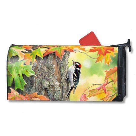 Magnet Works Woodpecker Bird Original Magnetic Mailbox Wrap Cover
