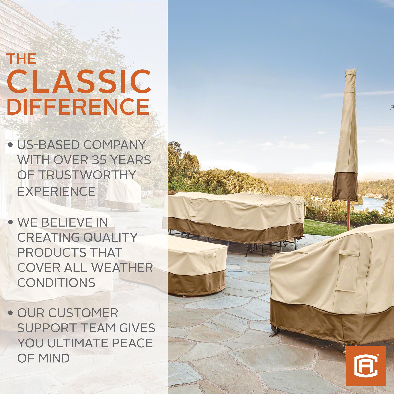 classic accessories veranda water resistant 32 inch stand up patio heater cover walmart com walmart com