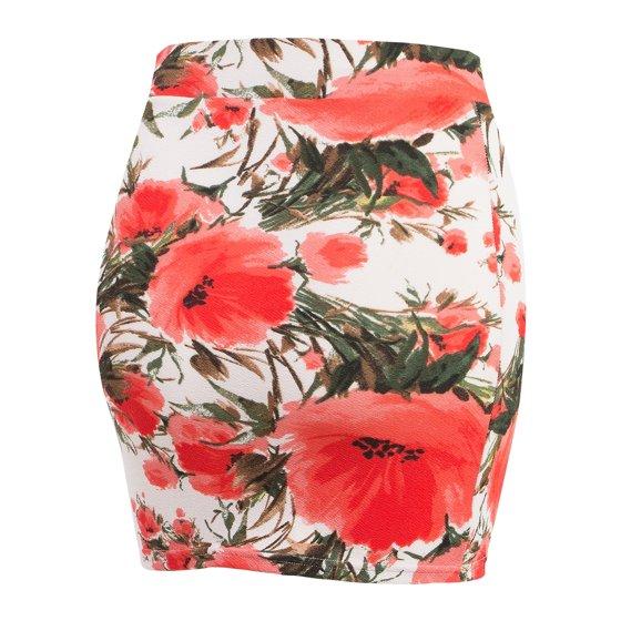 9fdb6da63d2 Doublju - Doublju Women s Basic Stetch Knit Bodycon Mini Skirt ...