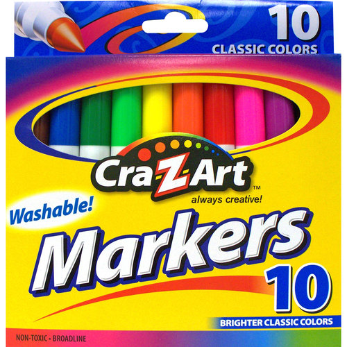 Cra-Z-Art Washable Markers, 10ct