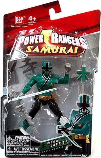 Power Rangers Samurai Mega Ranger Forest Action Figure by