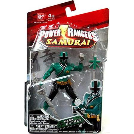 Power Rangers Samurai Mega Ranger Forest Action Figure - A Power Rangers Samurai Halloween